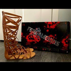Summer sandals by Fergie
